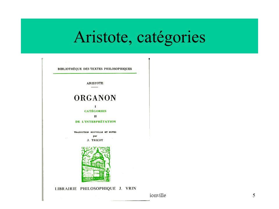 CNRIUT 07, Thionville6 Sujet/attribut/substance