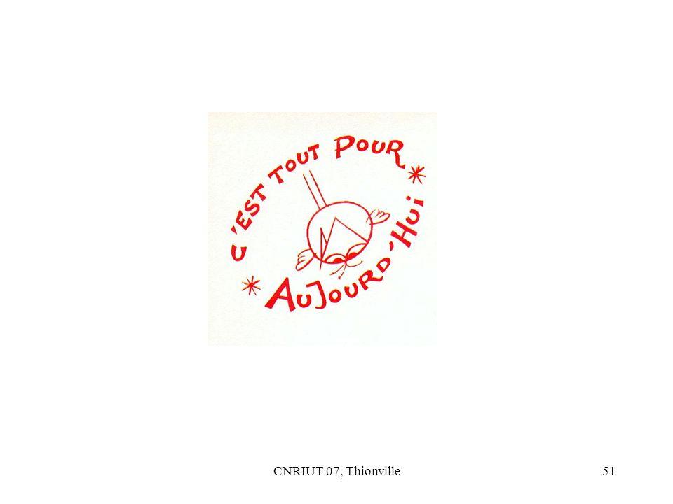 CNRIUT 07, Thionville51