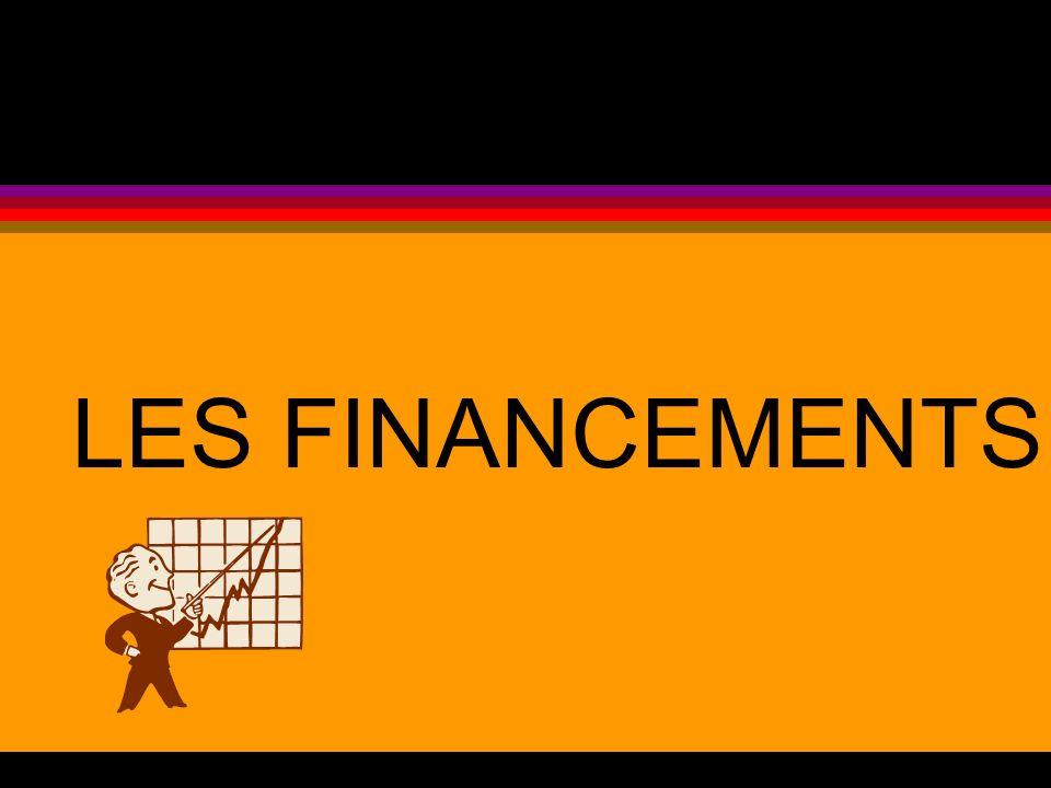 LES FINANCEMENTS