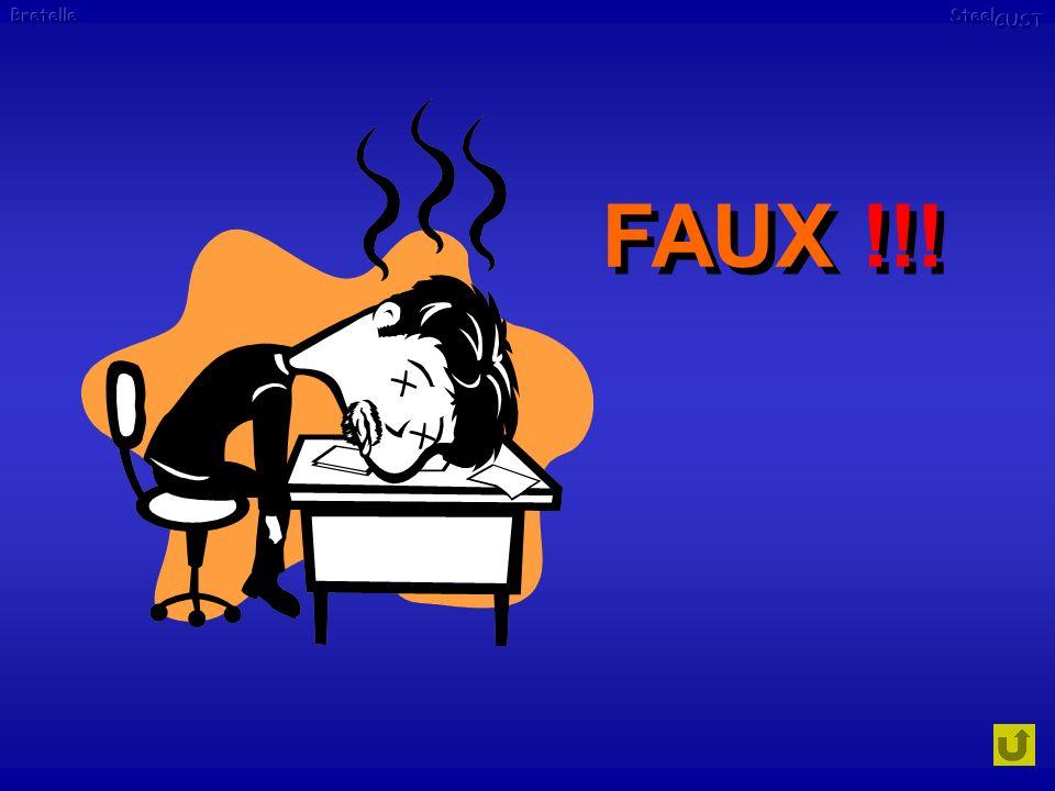 FAUX !!!