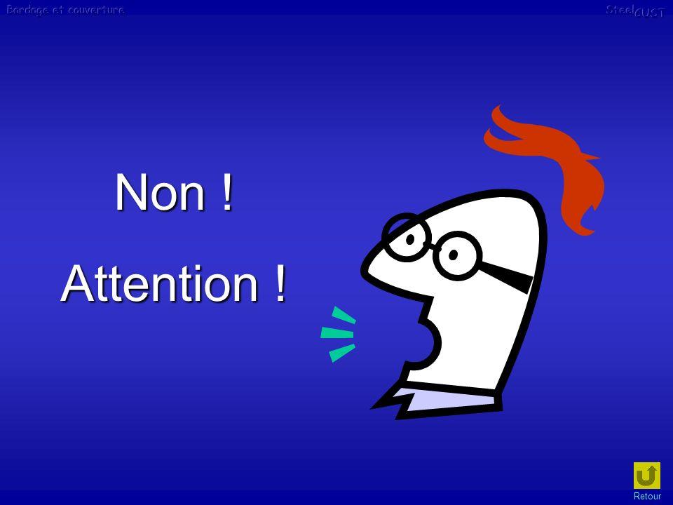 Non ! Attention ! Retour