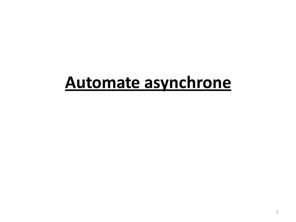 Automate asynchrone 1