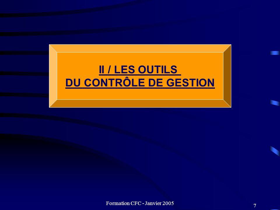 Formation CFC - Janvier 2005 48 ANNEXES Plan stratégique..