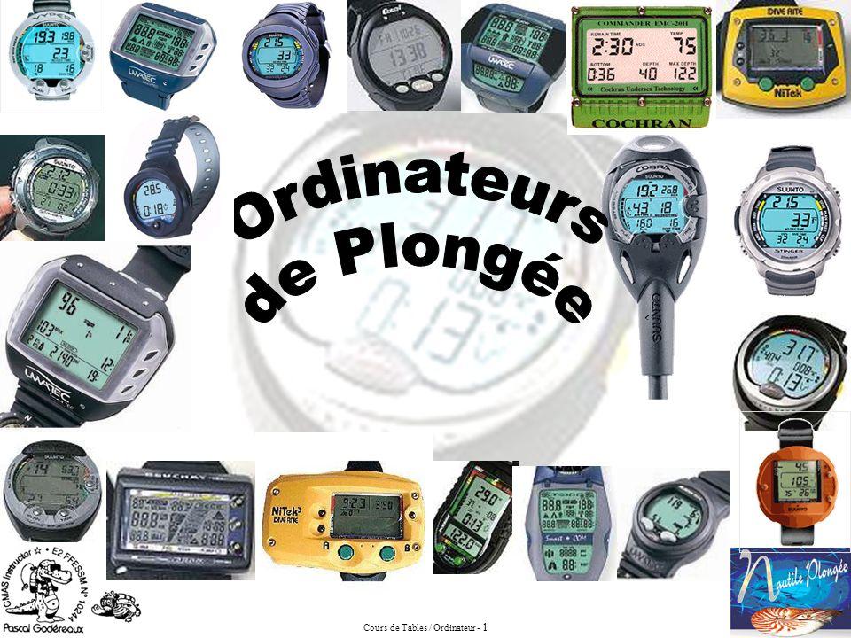 Cours de Tables / Ordinateur - 1