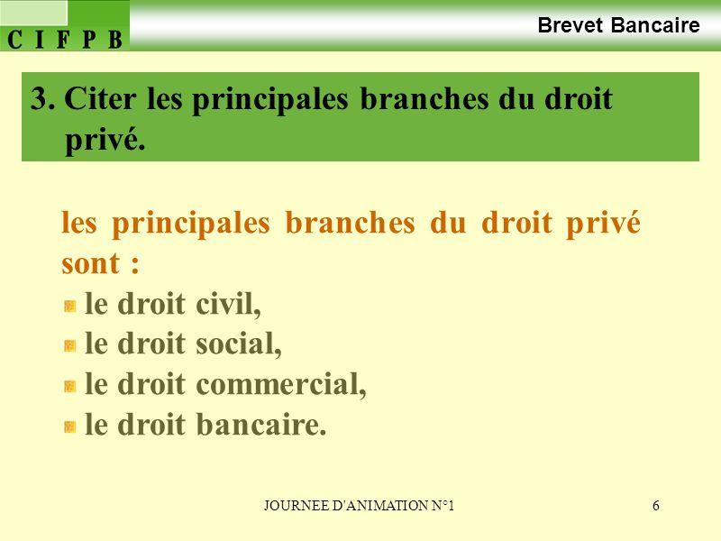 JOURNEE D ANIMATION N°147 b.Le principe de la personnalité des lois.