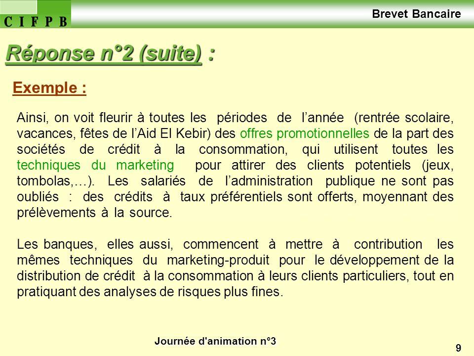 Journée d animation n°3 30 2.Quelles conséquences pour les banques françaises .