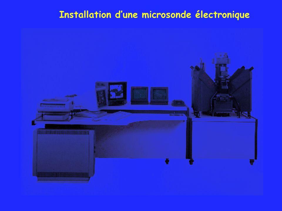 Installation dune microsonde électronique