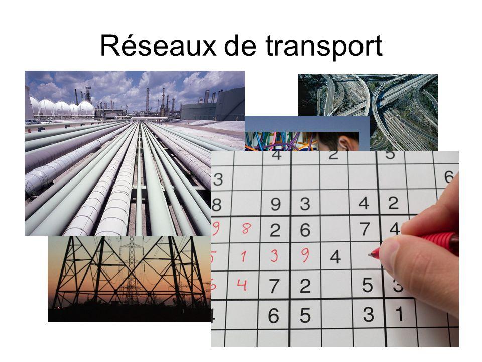 Réseaux de transport