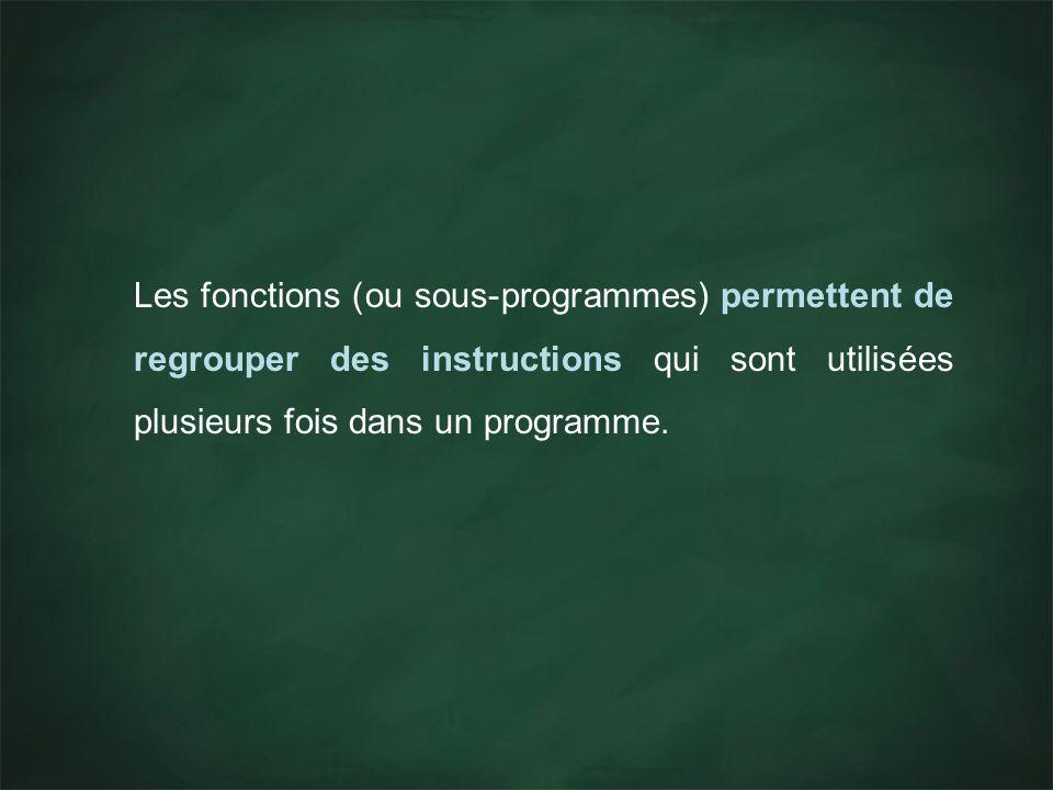 On doit écrire une fonction qui prendra en entrée deux entiers n et p, et affichera à lécran n p.