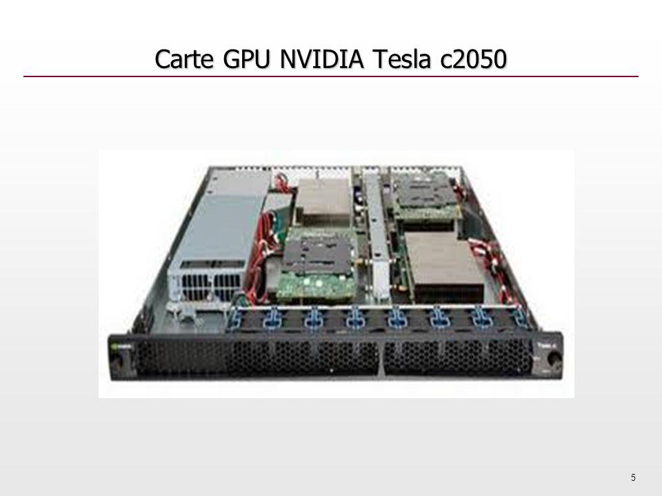 Carte GPU NVIDIA Tesla c2050 5