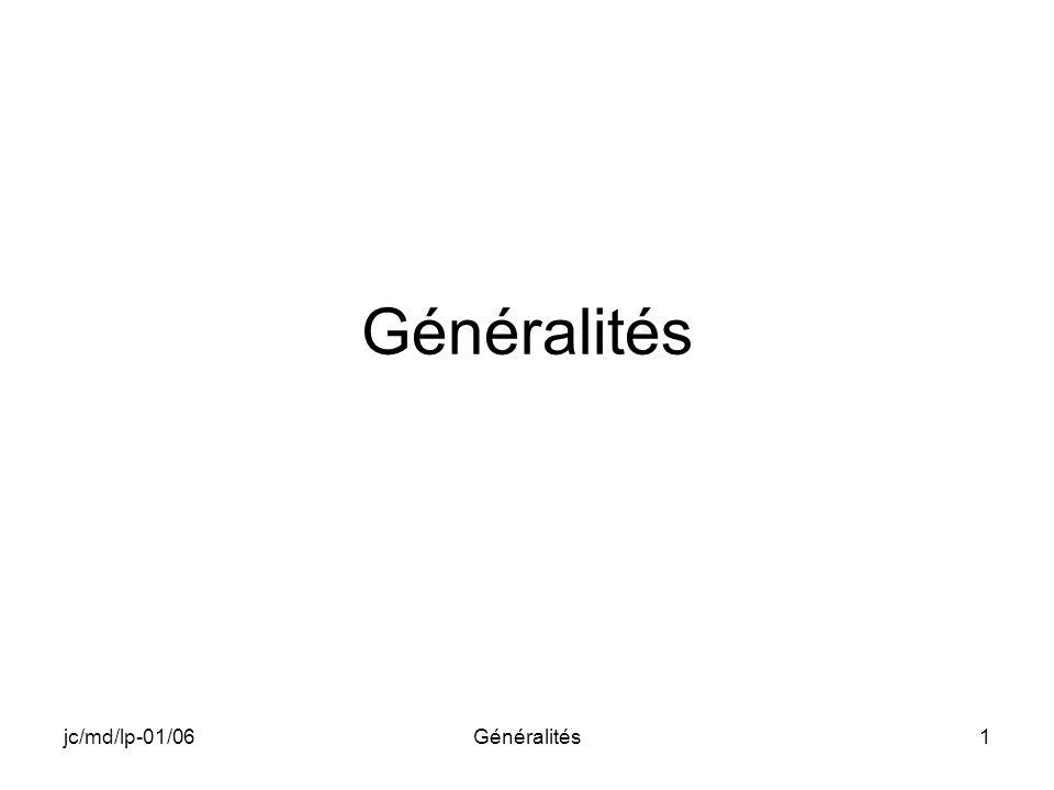 jc/md/lp-01/06Généralités12 ARCHITECTURE APPLICATION ADAPTATION NOYAU STANDARD HARDWARE