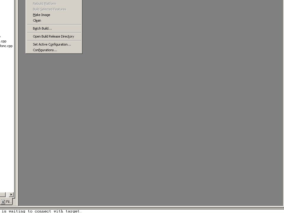 jc/md/lp-01/06Threads25 Génération de THREAD1.exe Build THREAD1.exe