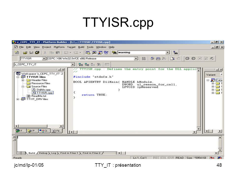 jc/md/lp-01/05TTY_IT : présentation48 TTYISR.cpp