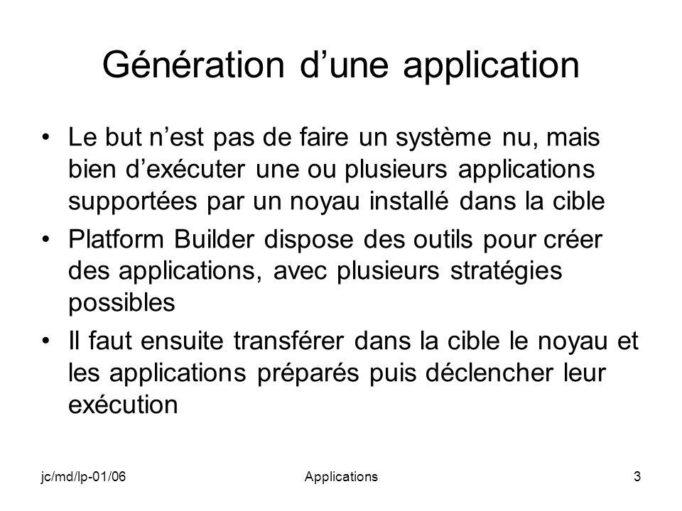 jc/md/lp-01/06Applications34 Création dune WCE Application
