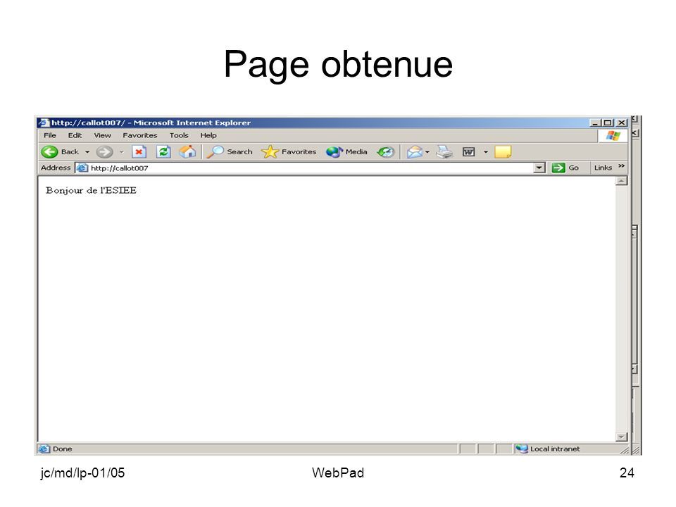 jc/md/lp-01/05WebPad24 Page obtenue