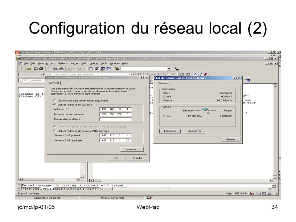 jc/md/lp-01/05WebPad34 Configuration du réseau local (2)