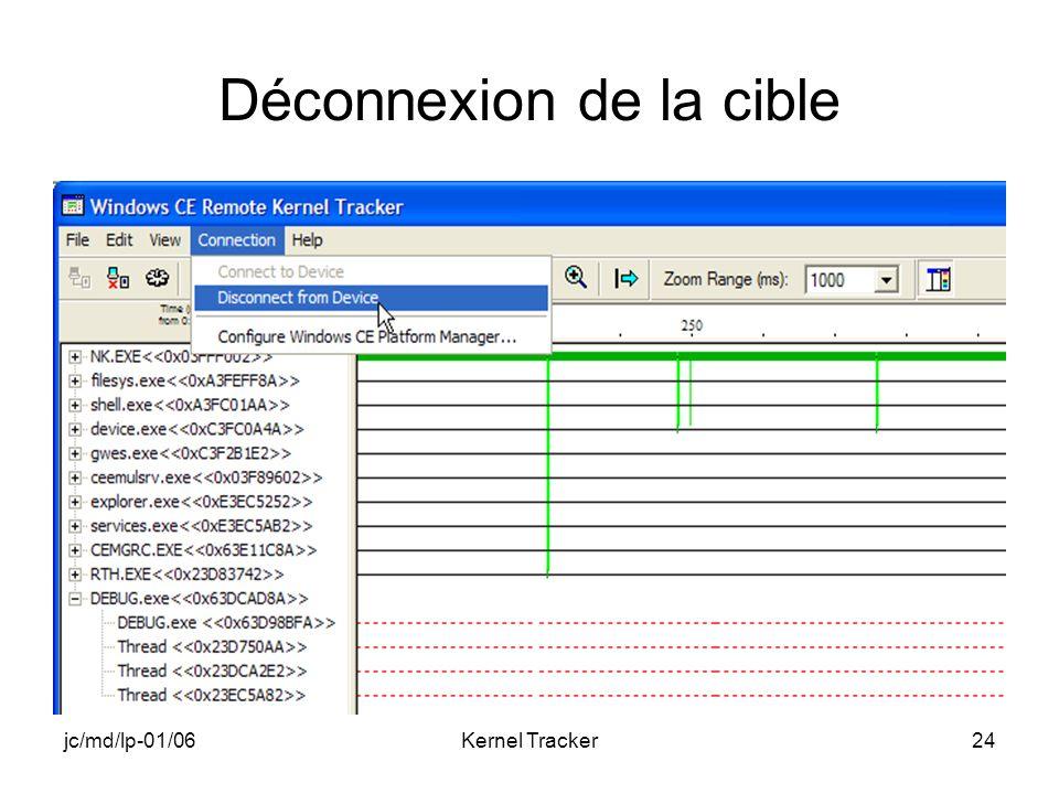 jc/md/lp-01/06Kernel Tracker24 Déconnexion de la cible