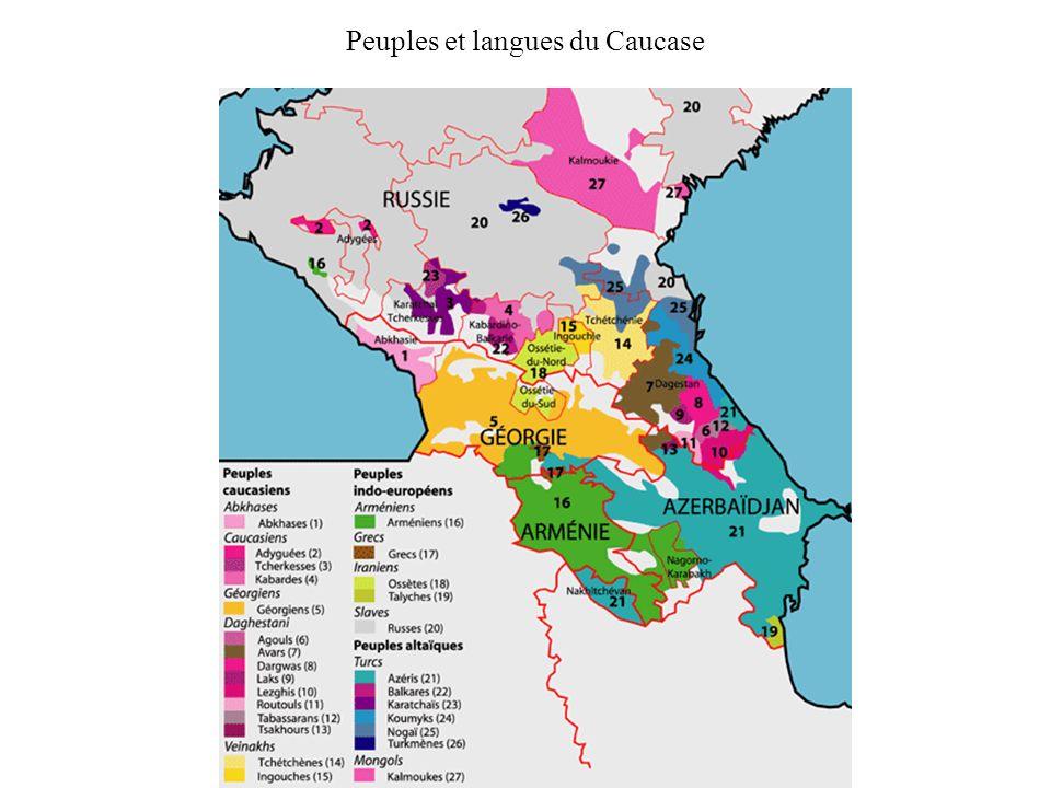 Peuples et langues du Caucase