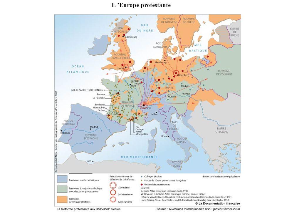 L Europe protestante