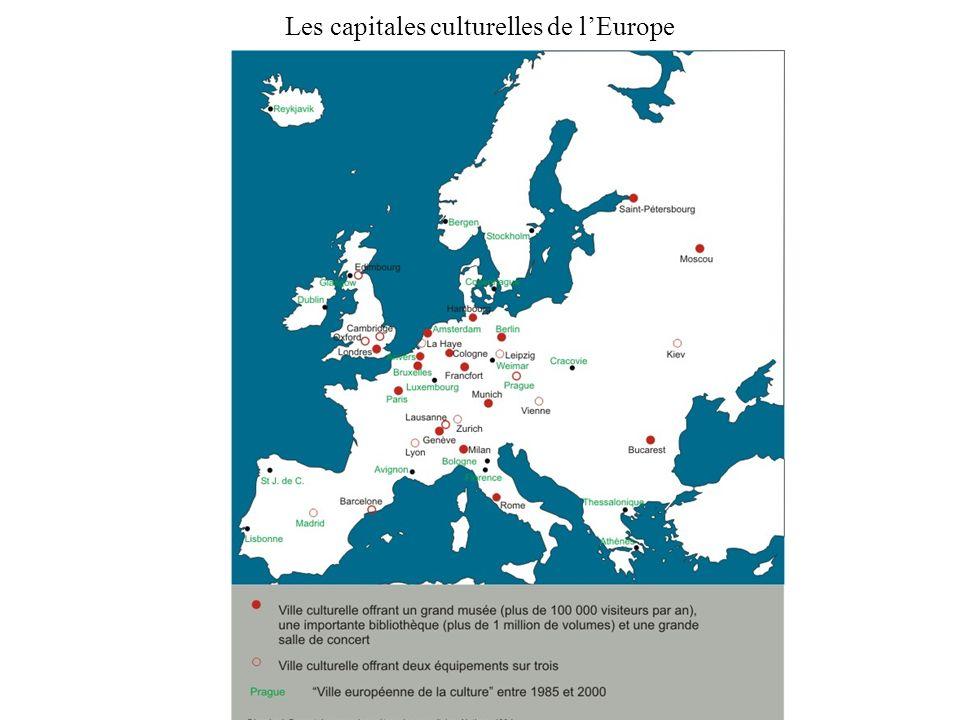 Les capitales culturelles de lEurope