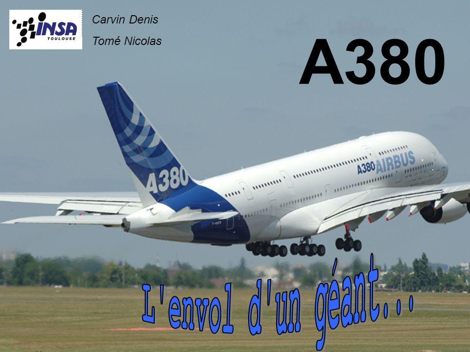 Carvin Denis Tomé Nicolas A380