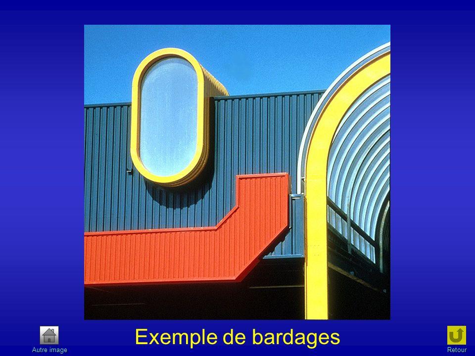 Exemple de bardages Autre image Retour