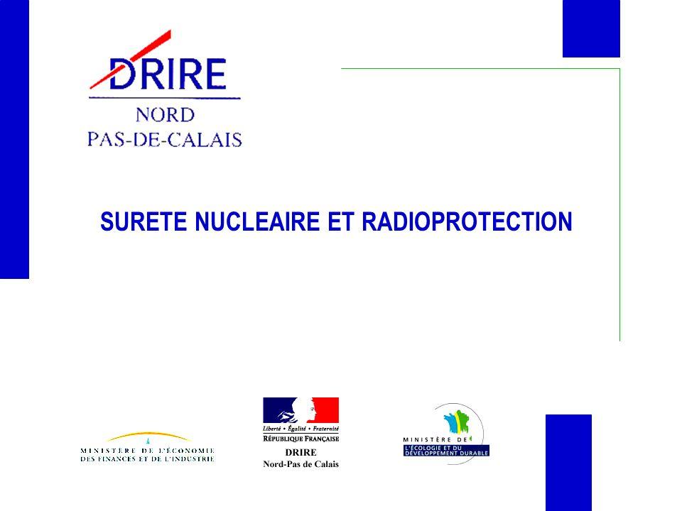 SURETE NUCLEAIRE ET RADIOPROTECTION