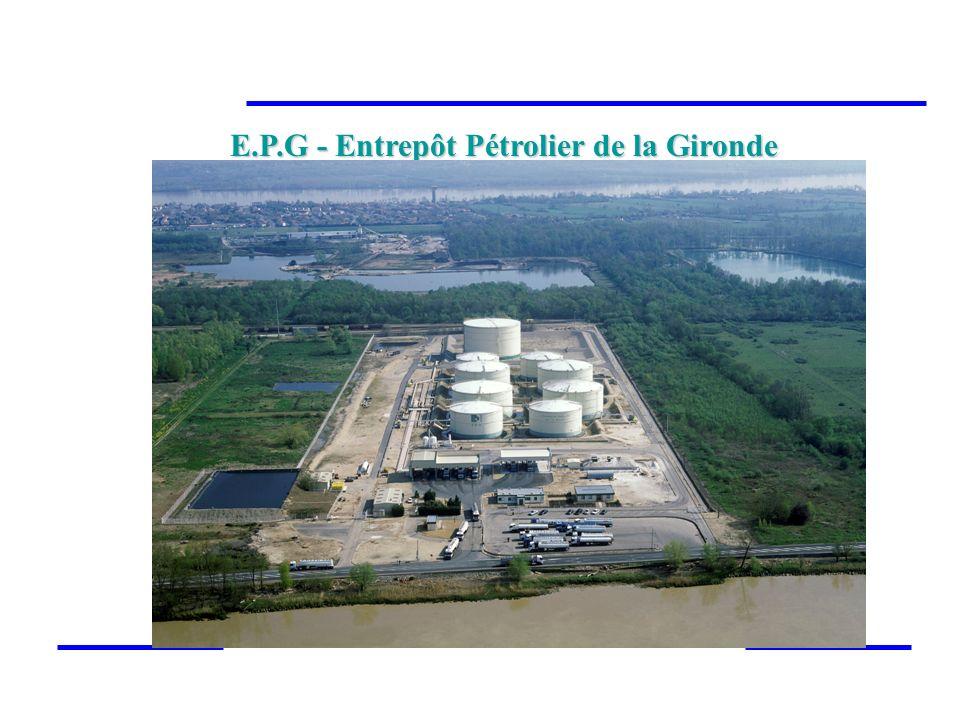 E.P.G - Entrepôt Pétrolier de la Gironde