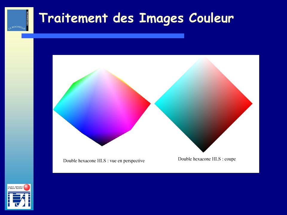 Laboratoire dInformatique et dImagerie Industrielle Traitement des Images Couleur