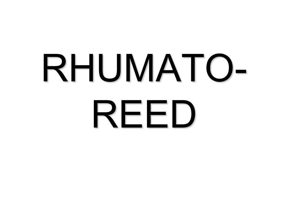 RHUMATO- REED