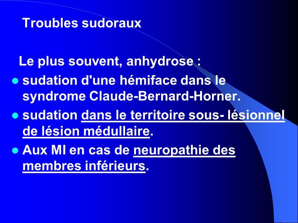 V.TROUBLES SENSORIELS I.