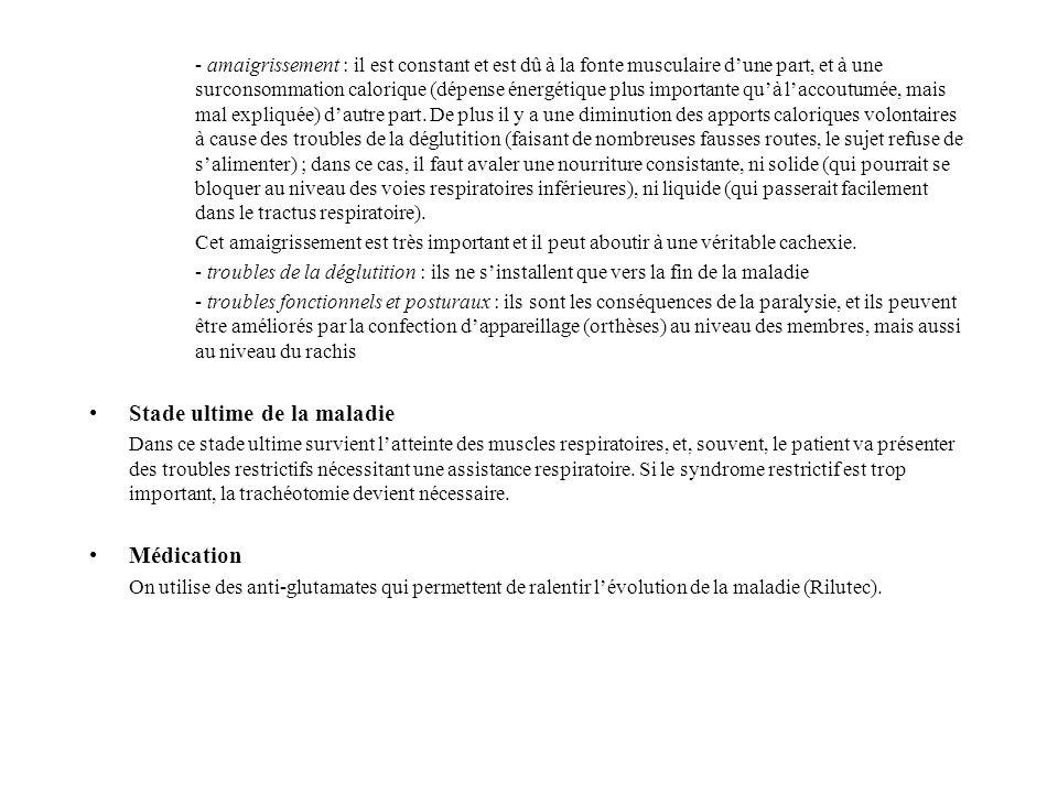 REEDUCATION Principes La rééducation des patients SLA doit être systématique dès le diagnostic de la maladie.