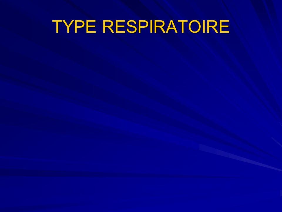 TYPE RESPIRATOIRE