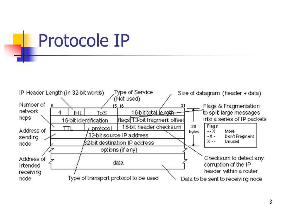 Protocole IP 3