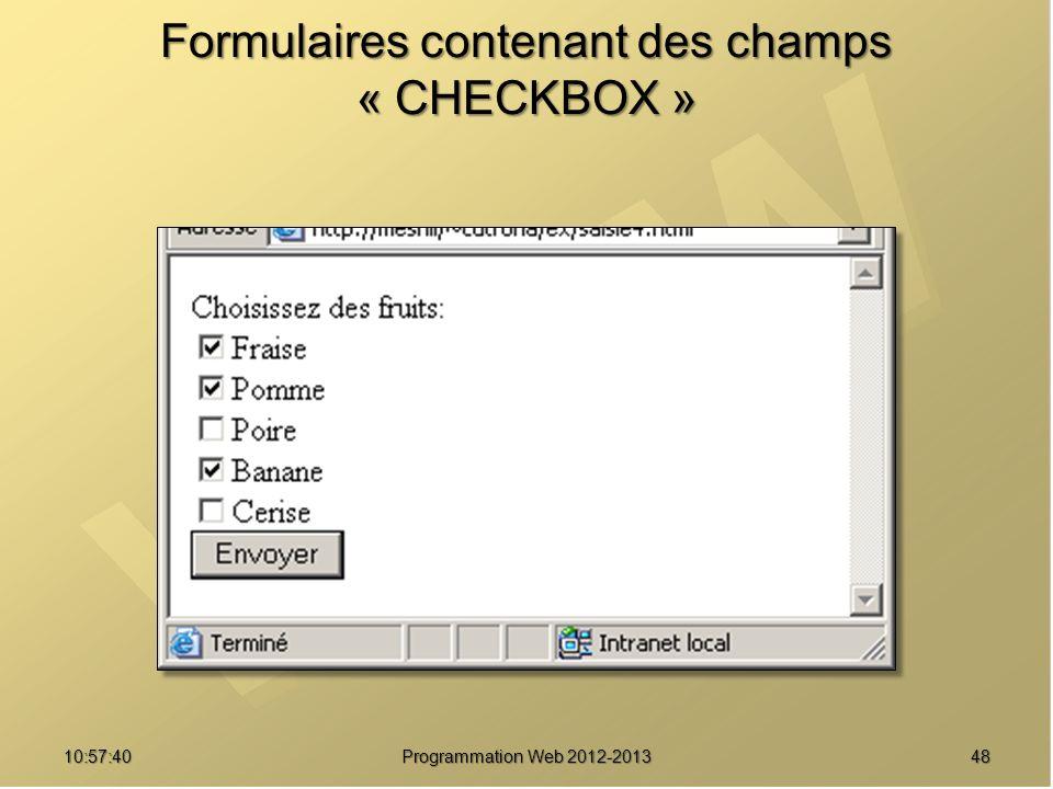 4810:59:29 Formulaires contenant des champs « CHECKBOX »