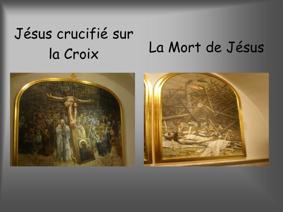 Jésus crucifié sur la Croix La Mort de Jésus