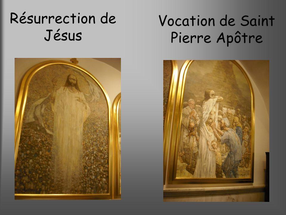 Résurrection de Jésus Vocation de Saint Pierre Apôtre
