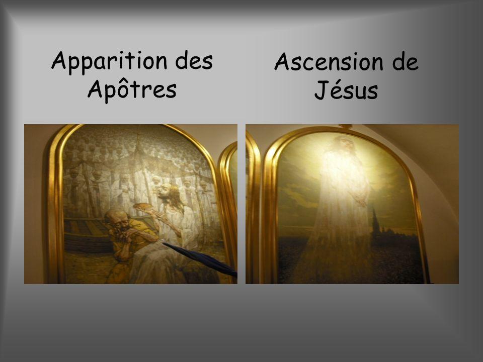 Apparition des Apôtres Ascension de Jésus