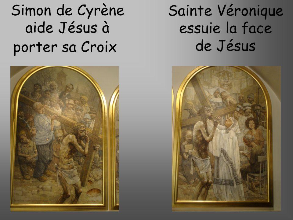 Jésus tombe pour la seconde fois, cest la semaine Sainte Jésus console les filles de Jérusalem