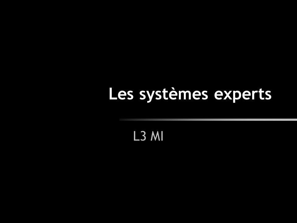 2 Introduction Objectif : remplacer les experts humains d un domaine ou les aider dans leur expertise.