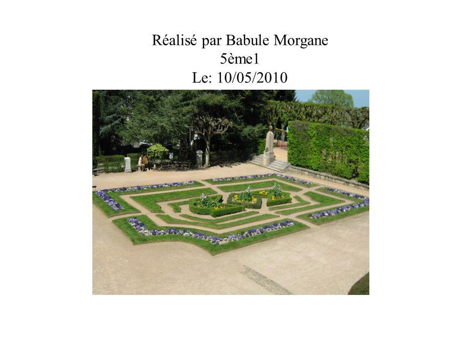 Réalisé par Babule Morgane 5ème1 Le: 10/05/2010