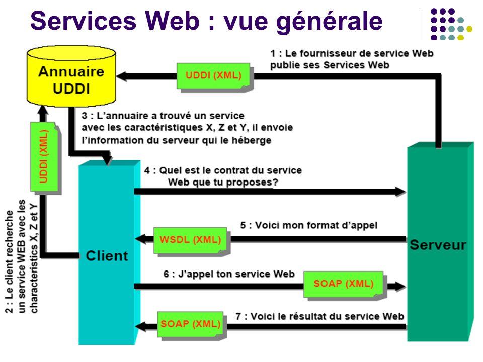 17 Services Web : vue générale