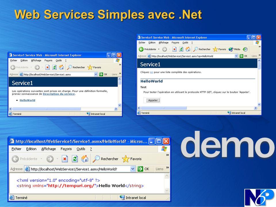 Web Services Simples avec.Net