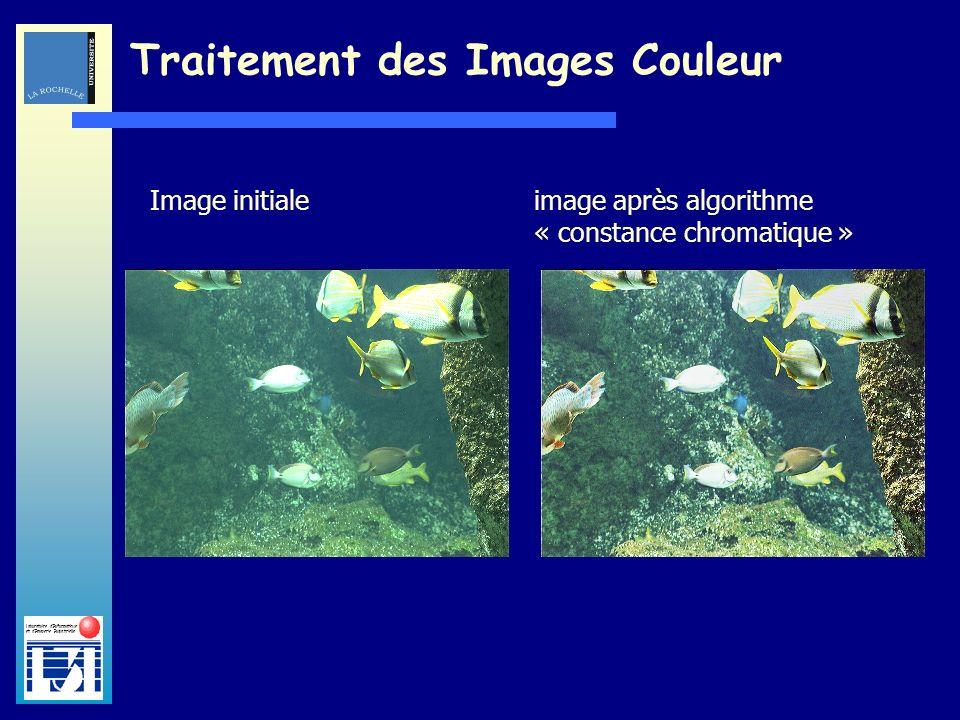 Laboratoire dInformatique et dImagerie Industrielle Traitement des Images Couleur Image initialeimage après amélioration de la saturation