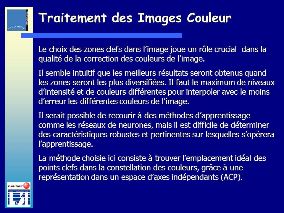 Laboratoire dInformatique et dImagerie Industrielle Traitement des Images Couleur Prenons lexemple dune image extraite dun film à restaurer :