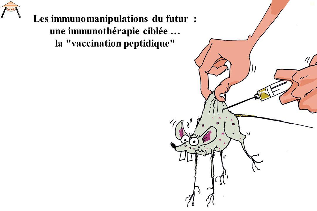 25 Les immunomanipulations du futur : une immunothérapie ciblée … la