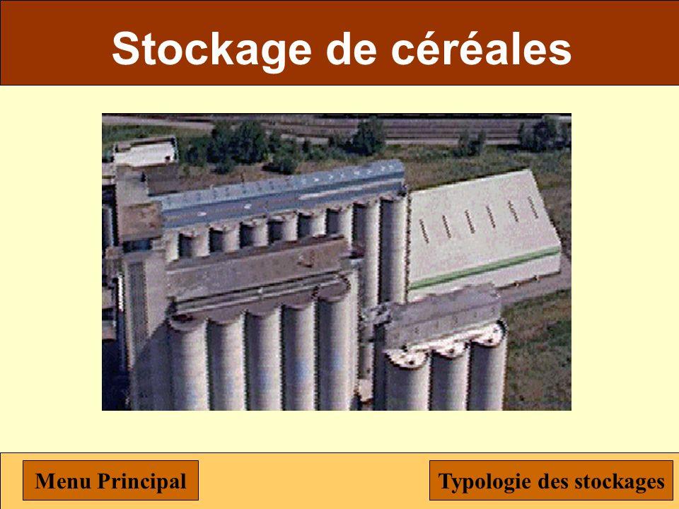 Typologie des stockages Menu Menu Principal Stockage des céréales Stockage biphasique Stockage semi-enterré Simulation Stockage à toit flottant Stocka