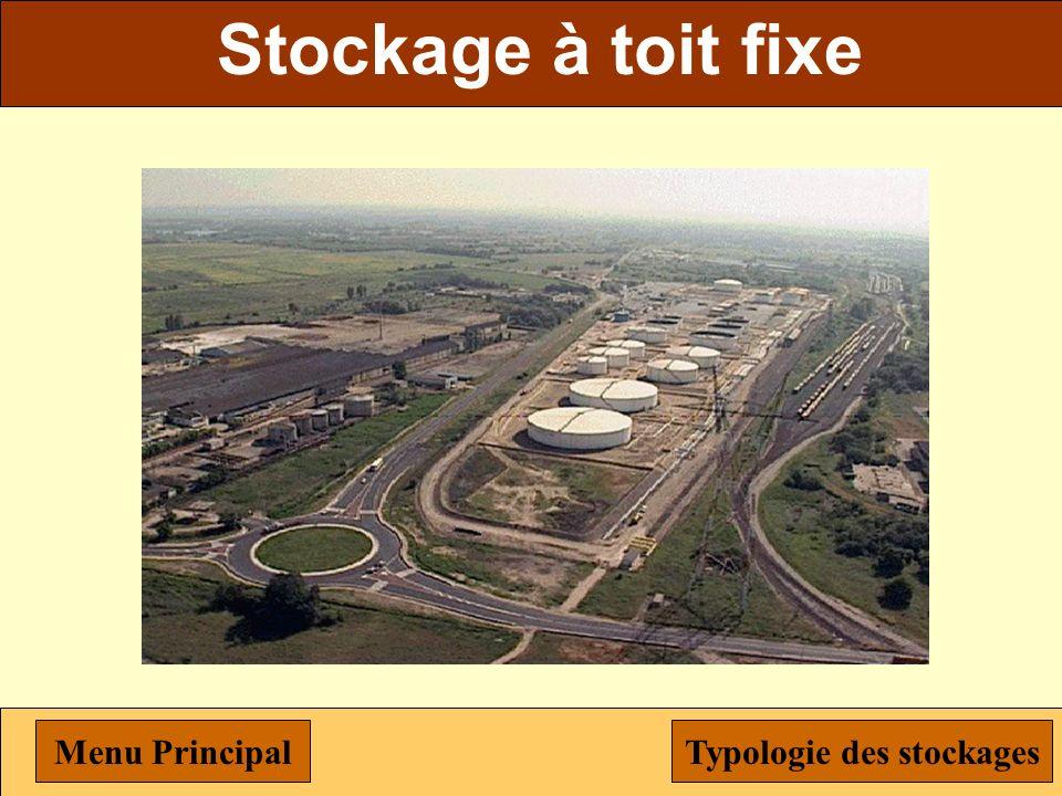 Stockage de céréales Menu PrincipalTypologie des stockages