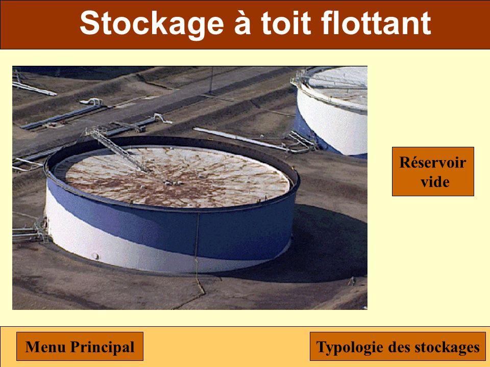 Stockage à toit flottant Menu PrincipalTypologie des stockages Réservoir plein
