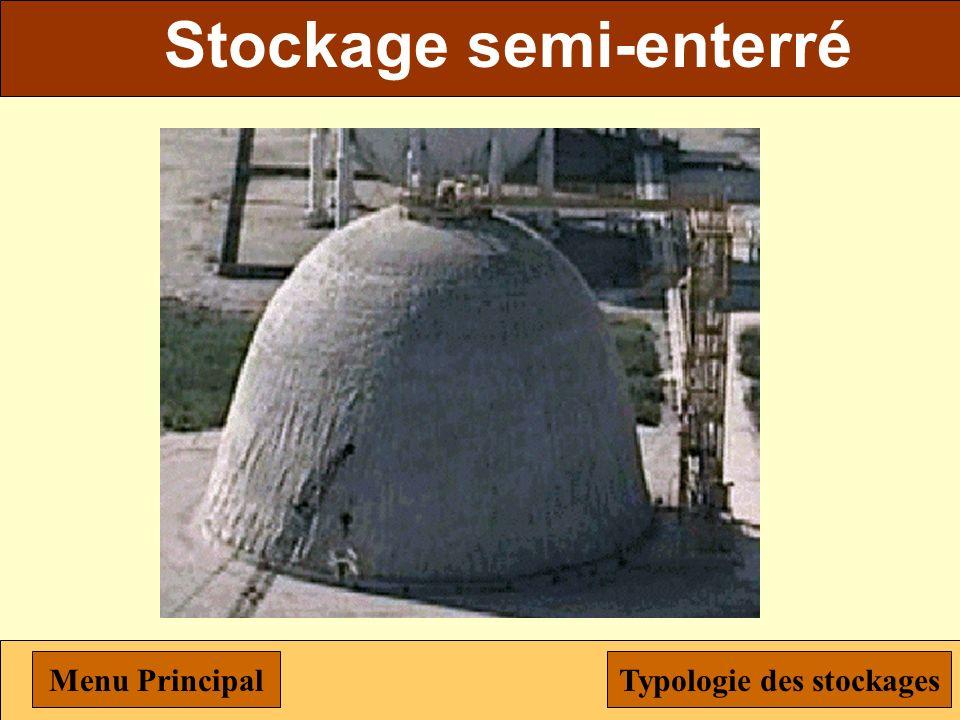 Stockage biphasique Menu PrincipalTypologie des stockages